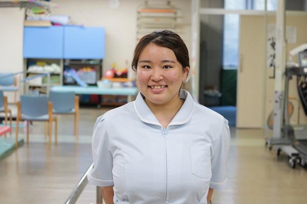 新入職員を紹介します!<介護職Kさん➀>@湖山リハビリテーション病院