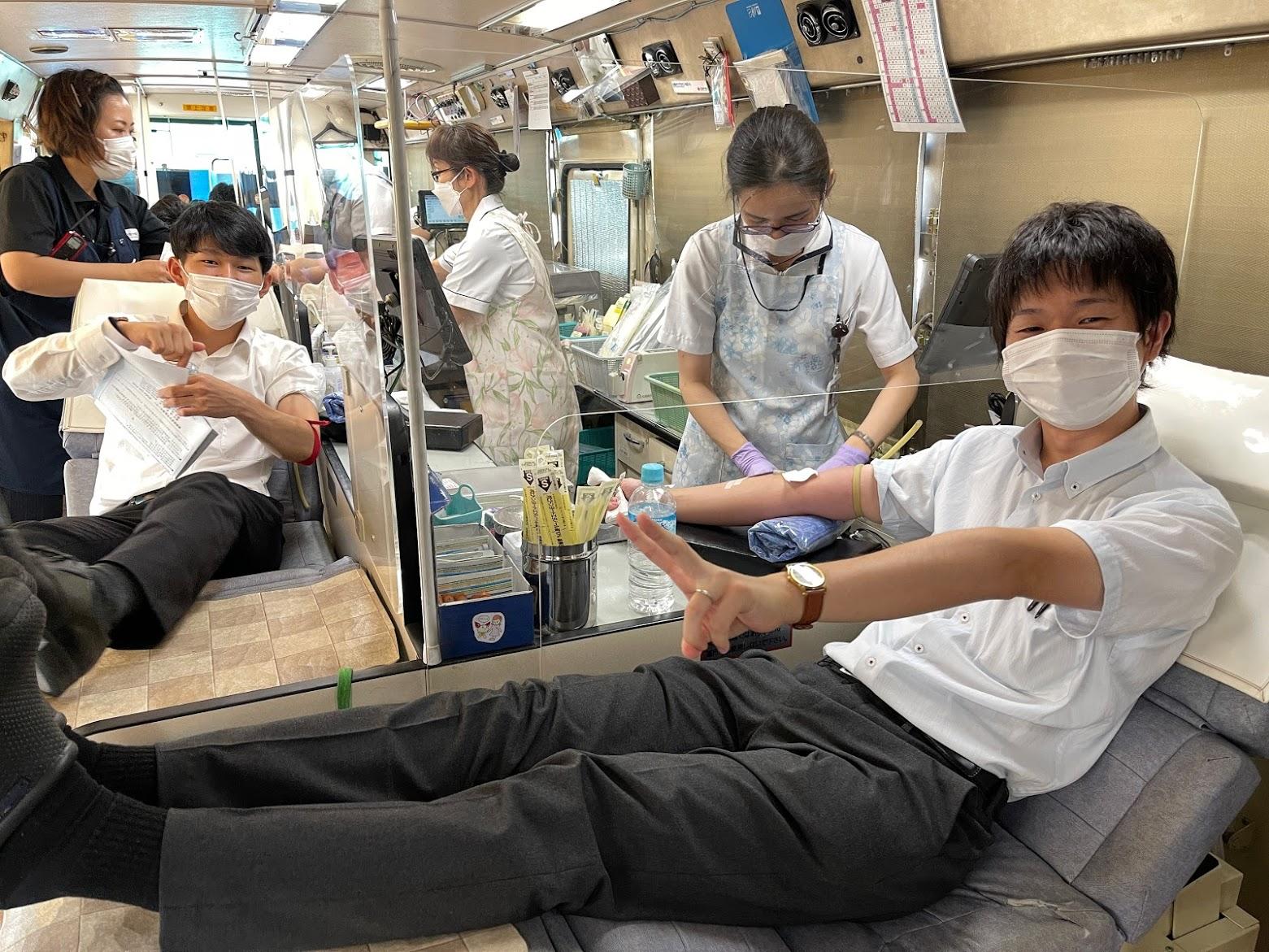 夏の献血活動!