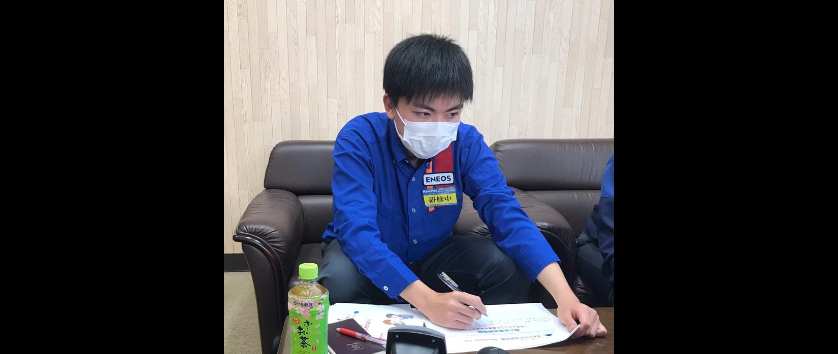 新入社員インタビュー①(令和3年4月入社)